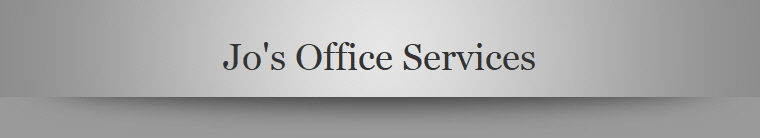 Jo's Office Services
